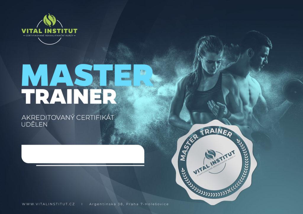 Certifikát master trainer