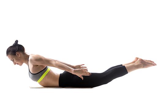 Posilování zádových svalů Fit Výzva Vitalinstitut